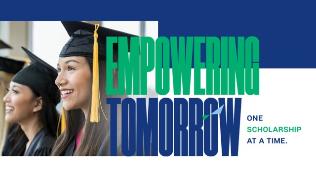 Empowering Tomorrow One Scholarship at a Time. Click to view our Scholarships page.